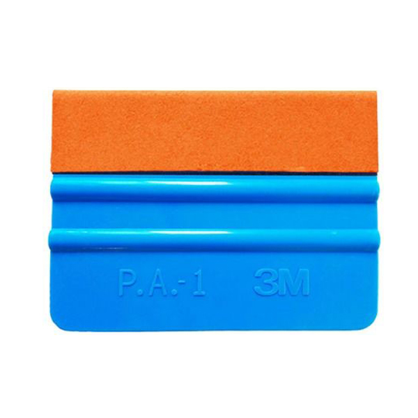 3M Blue Squeegee with suede