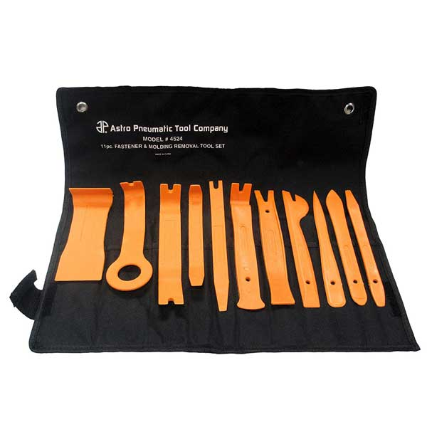 11pc Auto Trim & Molding Removal Tool Kit